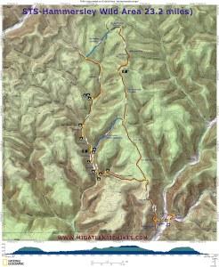 Map of the Hammersley Wild Area, via Midatlantichikes.com.