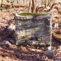 Interesting monument near Round Head vista.
